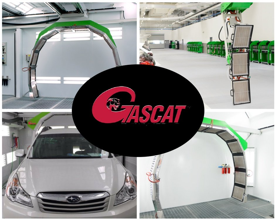 GascatGas Catalytic Dryer -Curing Arch for paint booths